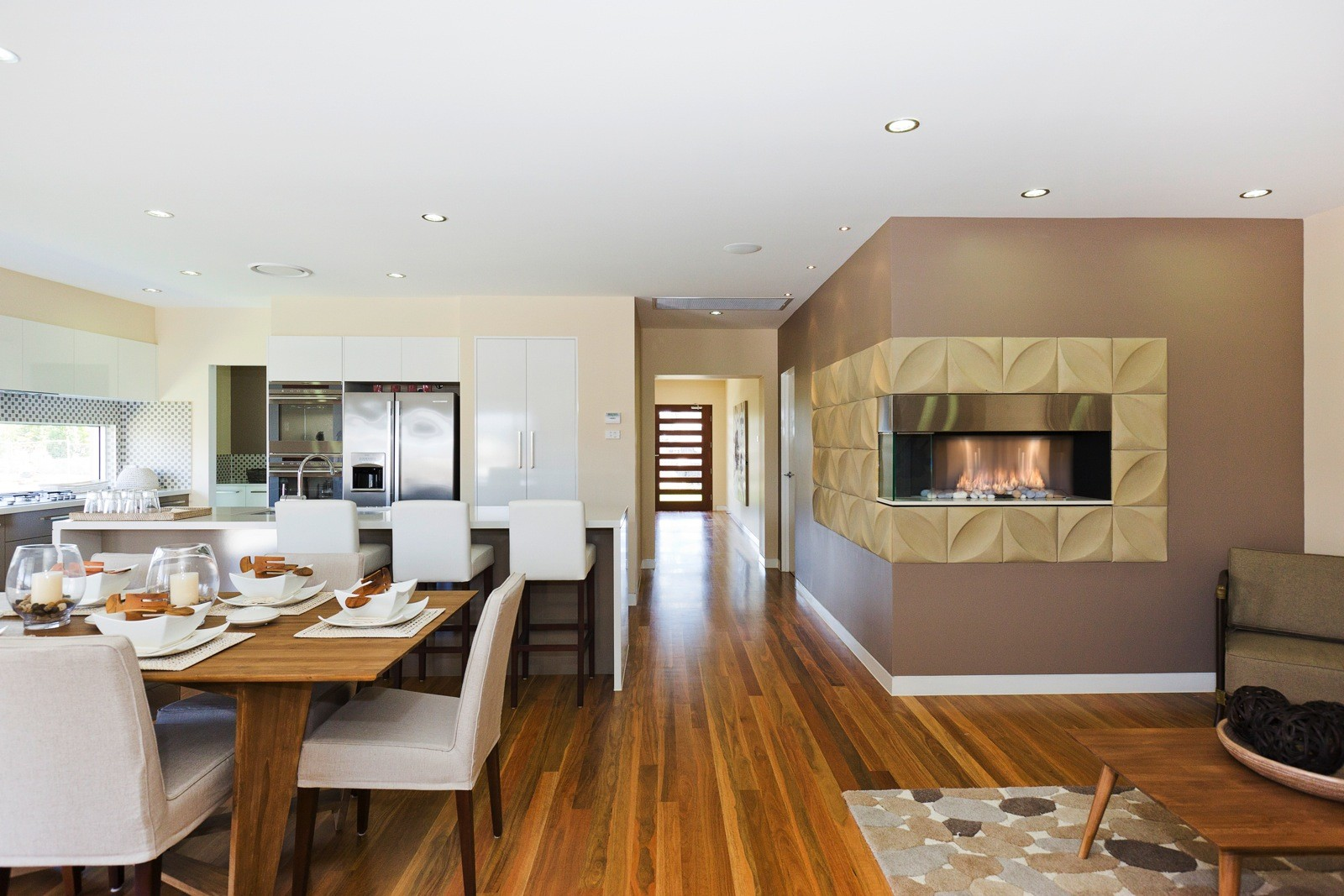 Spotted Gum timber flooring supplied and installed by Timber Floors Pty Ltd