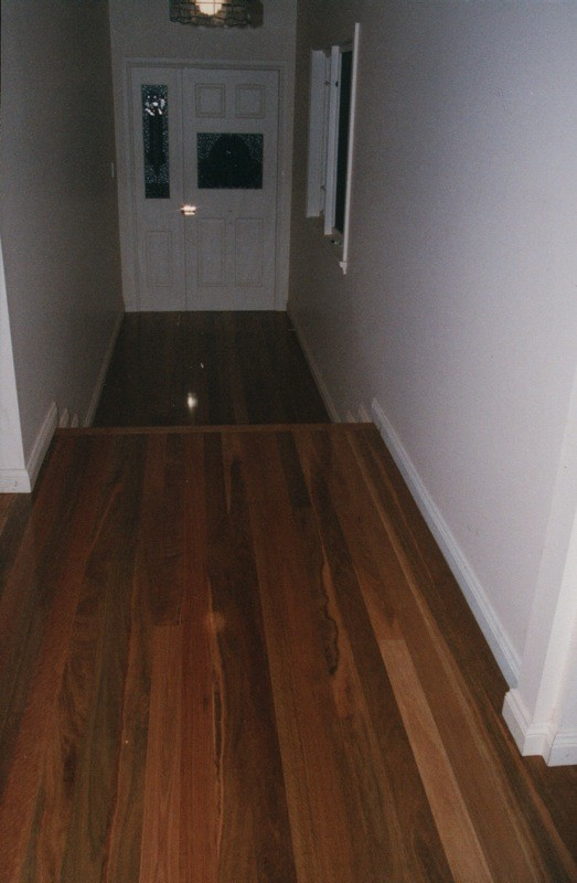 Spotted Gum  timber flooring and stairs by timber Floors Pty Ltd
