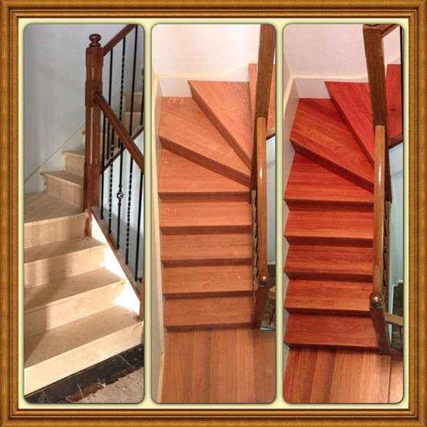 Start-to-finish-of-a-staircase