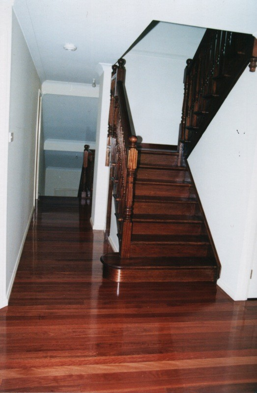 Turpentine timber flooring and stairs by timber Floors Pty Ltd