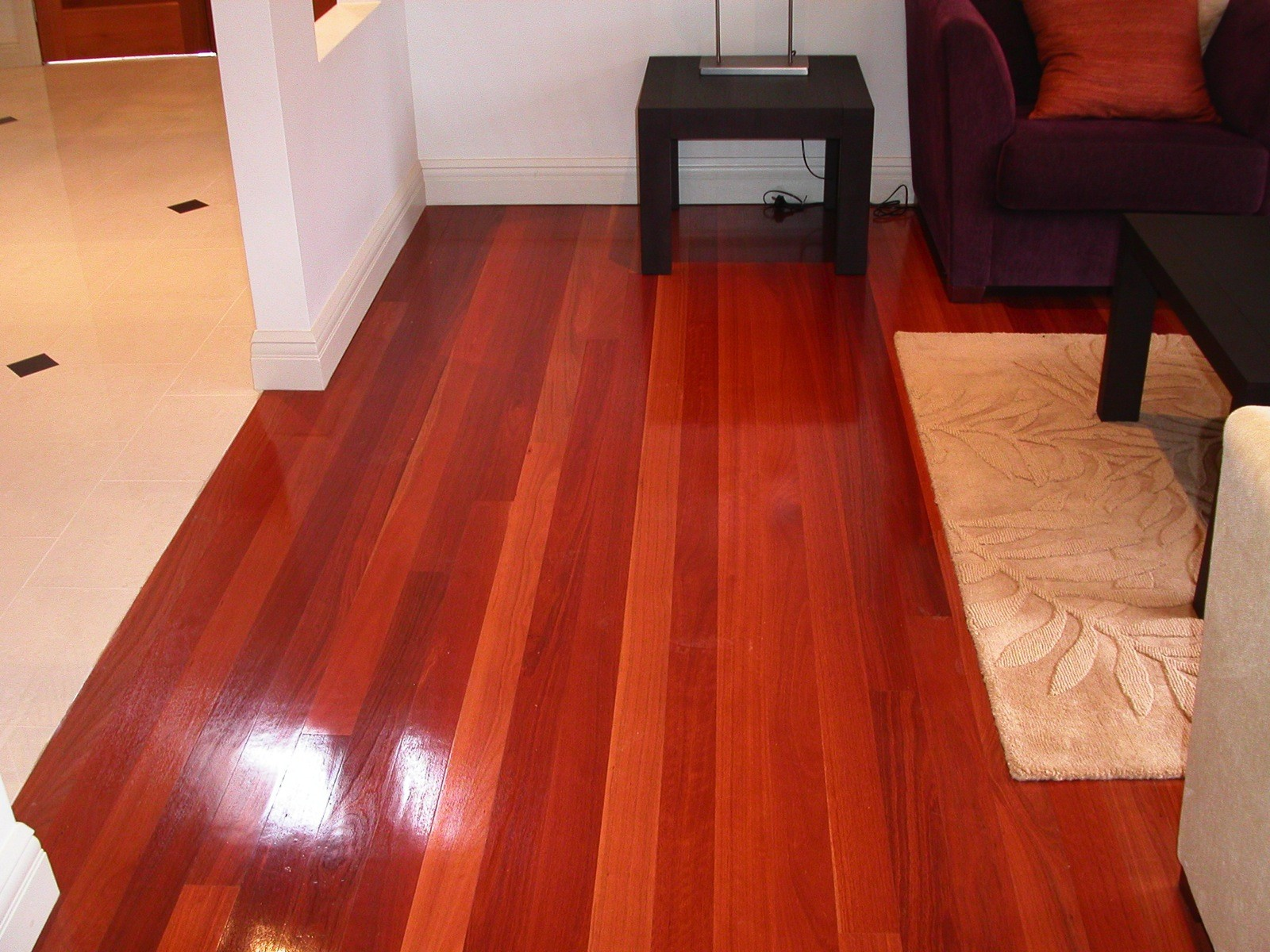 Red Gum timber flooring supplied and installed by Timber Floors Pty Ltd