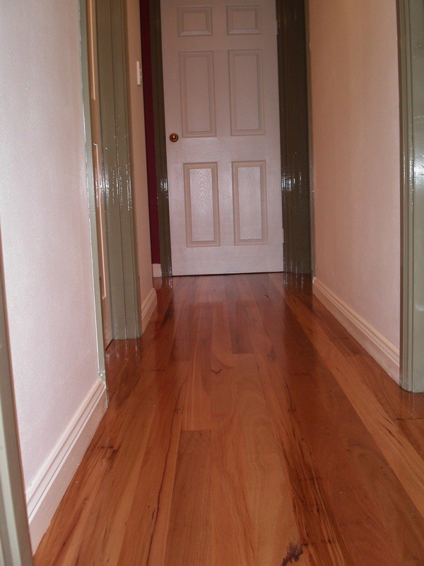 blackbutt-installed-onto-particle-board-flooring timber floorboards by timber Floors Pty Ltd