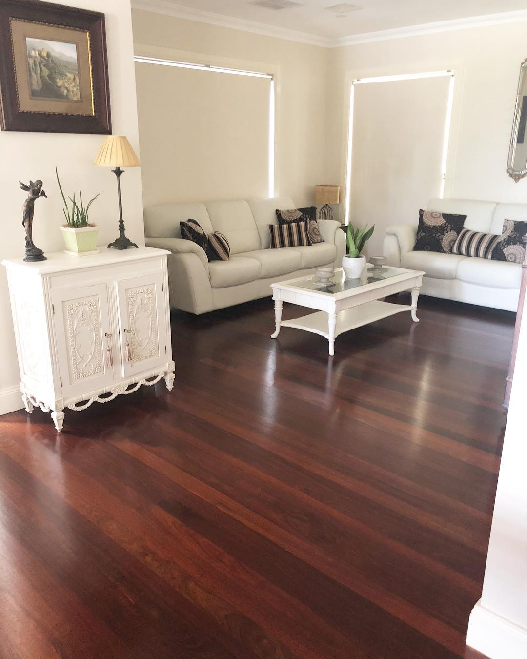 Jarrah timber flooring supplied and installed by Timber Floors Pty Ltd