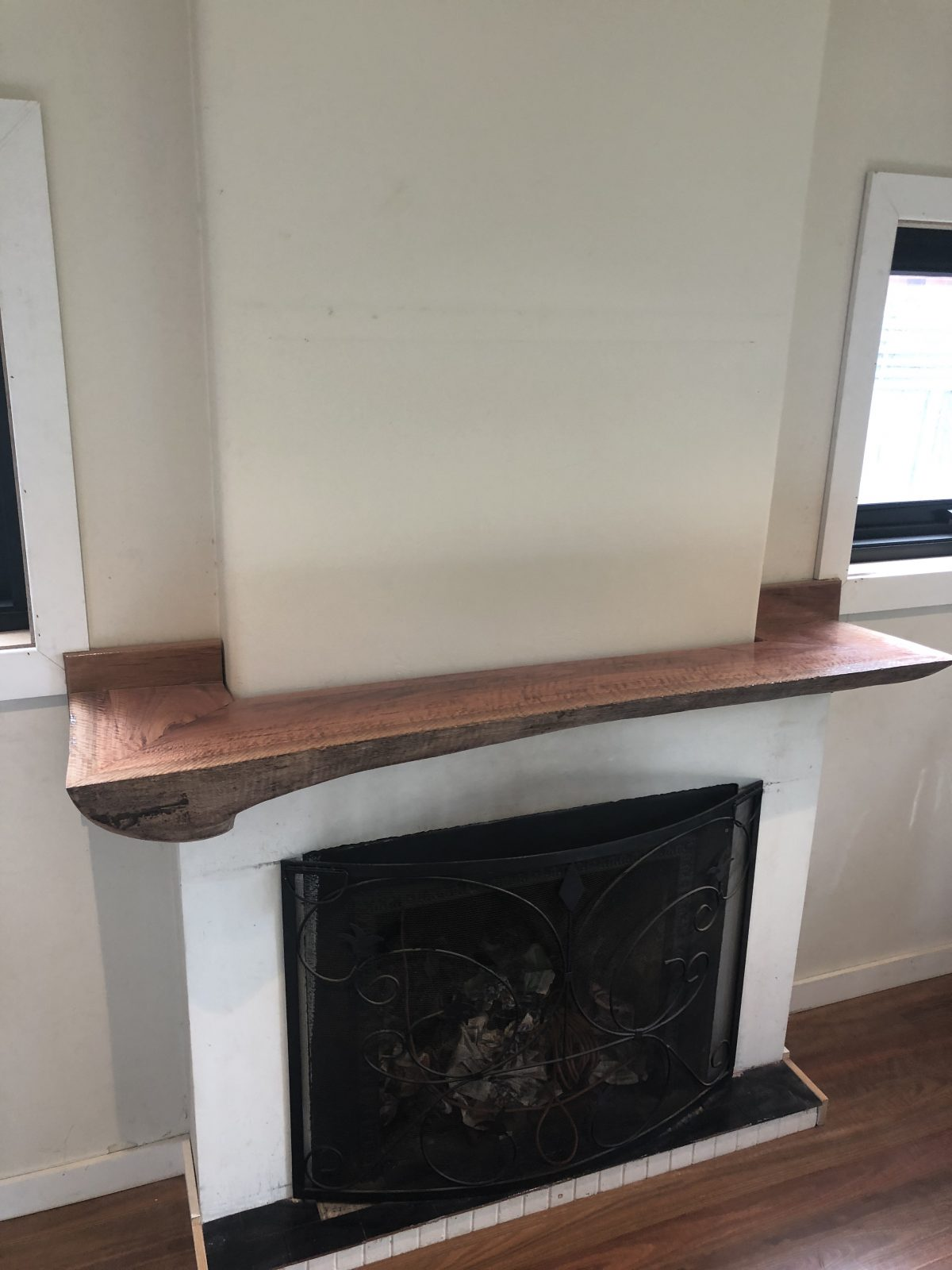 Bespoke Fire Place Mantel by Timber Floors Pty Ltd