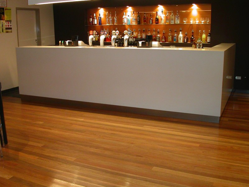 Commercial timber flooring  Camden Hotel by Timber Floors Pty Ltd